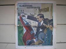 BOXE PRIMO CARNERA A GENOVA COVER IL MATTINO ILLUSTRATO 1930