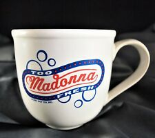 MADONNA DROWNED WORLD TOUR TOO FRESH MUG BOY TOY 2001 NEVER USED Rare/No Promo