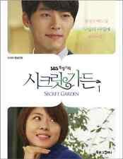 Secret Garden Korean Drama Picture Comic Book Ha Ji Won Hyun Bin Star Gift Ver 1