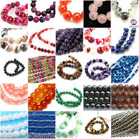 15-16 Inch Semi Precious Gemstone 6mm Round Beads