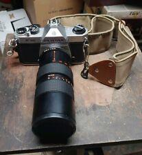 Asahi Pentax K1000 Camera With Chinar Lense Display/Parts