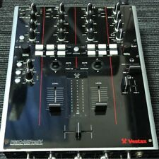 Used! Vestax PMC-05 ProⅣ Black DJ Mixer Professional Mixing Controller