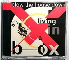 """LIVING IN A BOX """"Blow The House Down"""" 4 Track Maxi-CD 1989"""