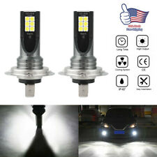 2Pc H7 LED Headlight 24000LM Hi/Low Beam Super Bright Light Bulbs Conversion Kit
