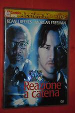 DVD  FILM- DA COLLEZIONE-  REAZIONE A CATENA- CON:KEANU REEVES- usato