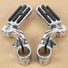 """Chrome 1.25"""" Adjustable Highway Short Mount FootPeg Fit For Harley Electra Glide"""