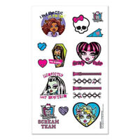 MONSTER HIGH Tattoos Party Favours Loot Lolly Bag Birthday