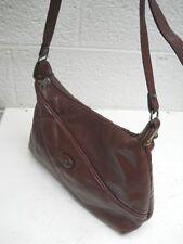 Etienne Aigner, Vintage Dark Burgundy Leather Shoulder Bag
