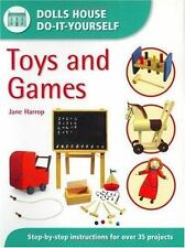 Dolls' House Do It Yourself : Toys and Games by Jane Harrap (2003, Paperback)