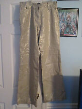 boston proper metallic lux pants 6 new   #979