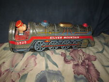 Vintage Silver Mountain Train Trade Mark Modern Toys For Parts