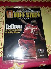 Tuff Stuff Magazine January 2004 Lebron James Cover Sealed