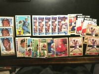 21 Topps Baseball Cards lot -NM-MT W/ HANK AARON, PETE ROSE JIMMY KEY Traded RC