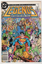 Legends #2 FN/VF LOT (8) John Byrne Ostrander DC 1986 Batman Superman Darkseid