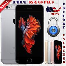 Apple iPhone 6S (16 /32 / 64 / 128 GB) GSM & CDMA UNLOCKED PHONE 4G LTE 12MP NEW