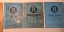 International Harvester John Deere Massey ManuaI & T Shop Service Flat Rate