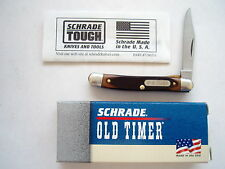SCHRADE USA  180T MIGHTY MITE OLD TIMER FOLDING LINER LOCK  KNIFE