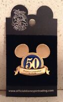 Happiest Celebration On Earth Pin 50 Years Mickey Mouse Ears Logo New WDW Disney