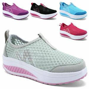 Donna casual Sneakers Sportive Scarpe  Ginnastica Dimagranti Running Traspiranti