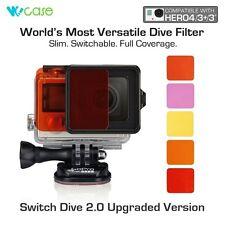 WoCase® Switch Dive GoPro Lens Filter Set Scuba Sea Diving Dive for HERO4 HERO3+