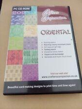 00175 Crafters Companion Oriental 2 CD Set