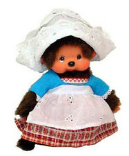 Sekiguchi Monchhichi World Costume Holland Girl Plush Doll Official Licensed