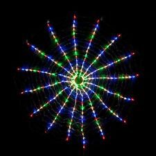 LED Round Circle Wave Effect Fairy Light for Christmas Decoration 3 Sizes