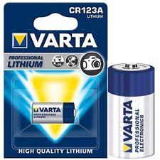 10x Photo-Batterien von VARTA CR123A Foto Professional Lithium Blisterpack 2026
