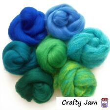 Needle Felting Underwater/Sea Mix Ideal for 3D Projects. Felting Wool 45g