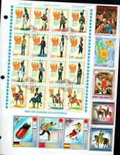 1¢ WONDER'S ~ WORLDWIDE TOPICALS M&U SMALL LOT ON PAGE ALL SHOWN ~ E188