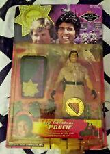 CHiPS Ponch Doll Figure Erik Estrada Police TV Show Rare Motorcycle Cop Toy Rare