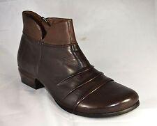 Zapatos señora zapatos piazza señora botines marrón tamaño 39 (PE 1575)