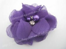 Purple Crocheted Doilies