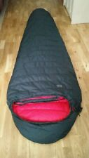RAB Summit 600 Down Insulated Sleeping Bag Made in Sheffield Excellent