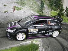 Solido Citroën C4 WRC 1:18 #2 v. Merksteijn Jr / Poel Hellendoorn Rally 2011