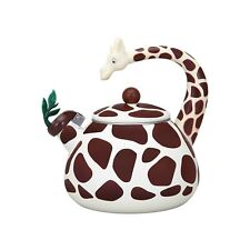 Supreme Housewares Giraffe Whistling Tea Kettle 2.1 qt.