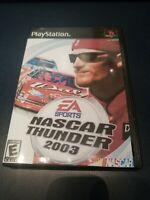 NASCAR Thunder 2003 (Sony PlayStation 1, 2002)