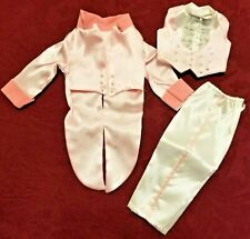 Shirley Temple Dress Up Doll Outfit Dimples Pink Tux Danbury Mint ~ New! No Box