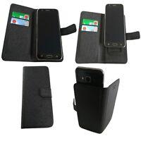 Handy Tasche für BQ Aquaris E4 Flip Book Case Klapp Cover Schutz Hülle Etui