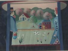 HELEN CAVIN The Country Couple Decorative Tole Painting Pattern Packet