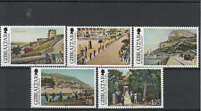 Gibraltar 2012 MNH Old Views II 5v Set Moorish Castle Grand Casemates Alameda