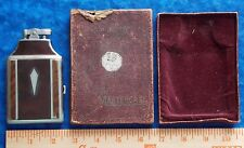 VINTAGE RONSON MASTERCASE #14501 LIGHTER CIGARETTE CASE IN BOX STIDHAM