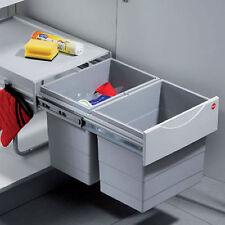 ESTRAIBILE DOPPIA rifiuti di cucina Bin - 36 litri 502.70.860 (Hafele)