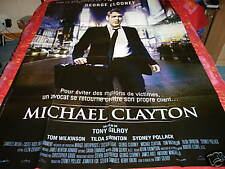 AFFICHE  GEORGE CLOONEY / MICHAEL CLAYTON, pollack