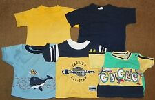 5 Boys T-SHIRTS SS TOPS 12 Months SHIRTS Champion Little Red Hen Small Steps