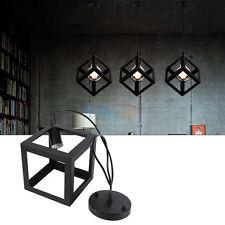 E27 100V ~ 220V Douille Rétro Vintage Lampe Suspension Lustre Pendentif Lampe