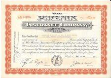 THE PHOENIX INSURANCE COMPANY (HARTFORD, CONN.)....1953 STOCK CERTIFICATE