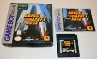 GRAND THEFT AUTO COMPLETE IN BOX NINTENDO ORIGINAL GAME BOY COLOR CIB MANUAL