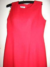 LADIES RED DRESS SIZE 8