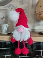 Crochet pattern amigurumi Santa Gonk Father Christmas decoration gnome